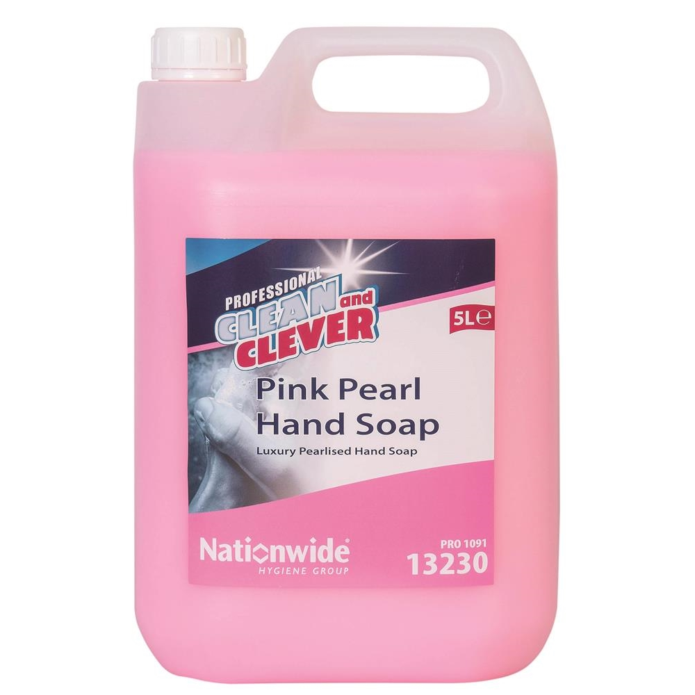 Clean & Clever Pink Pearl Hand Soap
