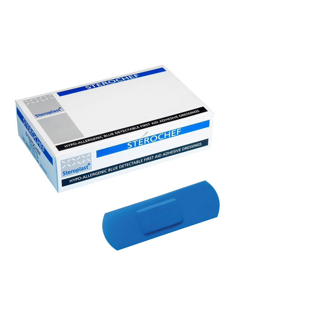 Detectable Plasters - Blue