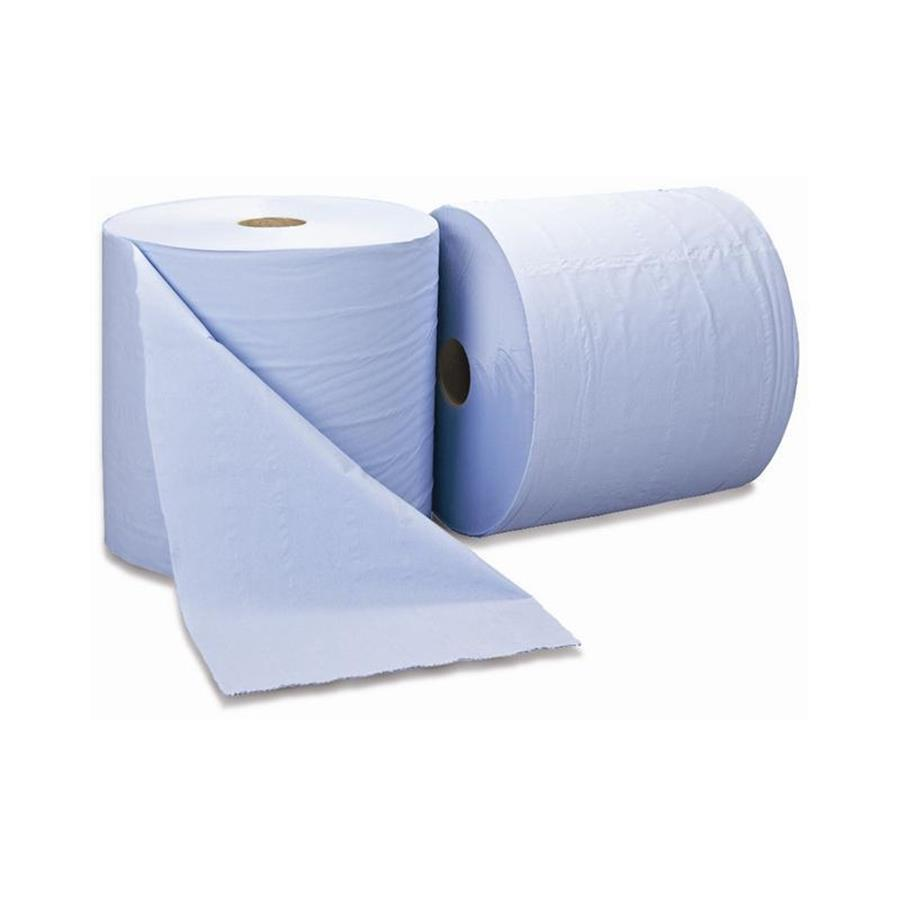 Perform 100 Works Wiper Roll - Blue
