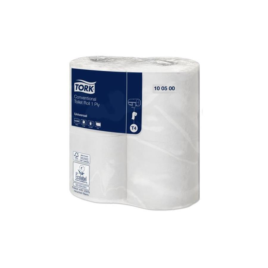 Tork Conventional Toilet Roll Universal - 1 ply