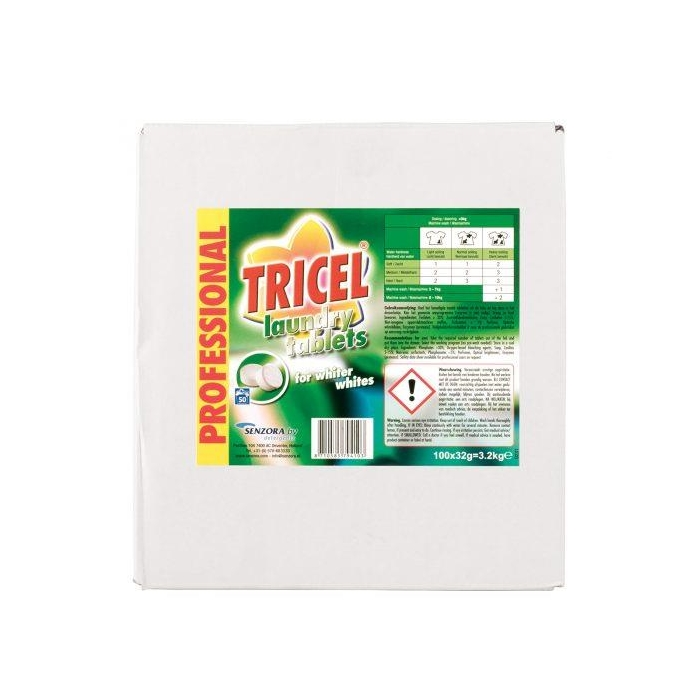 Tricel Biological Laundry Tablets