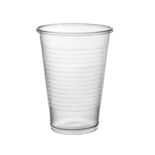 Clear Plastic Disposable Drinking Cup