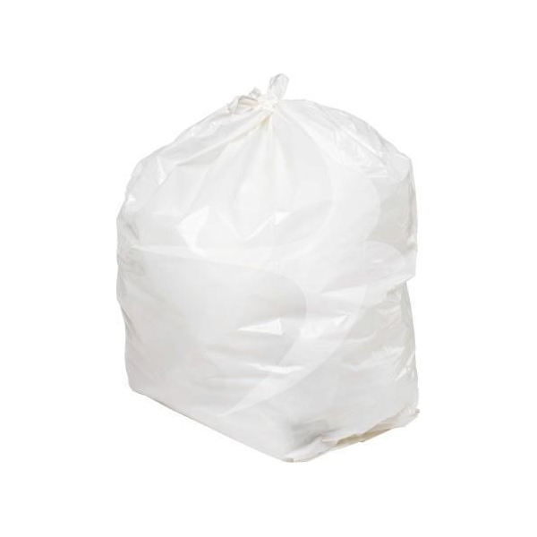Clear Waste Sack - 100% Recycled