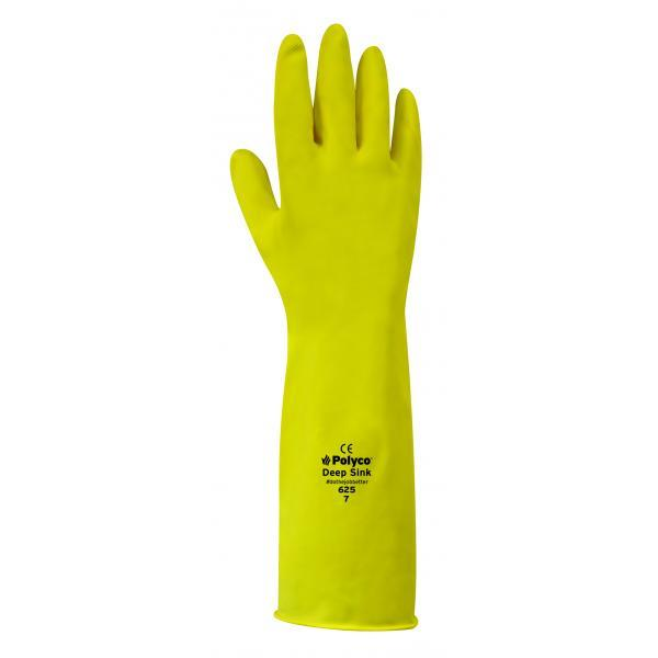Long Kitchen Gloves - Yellow