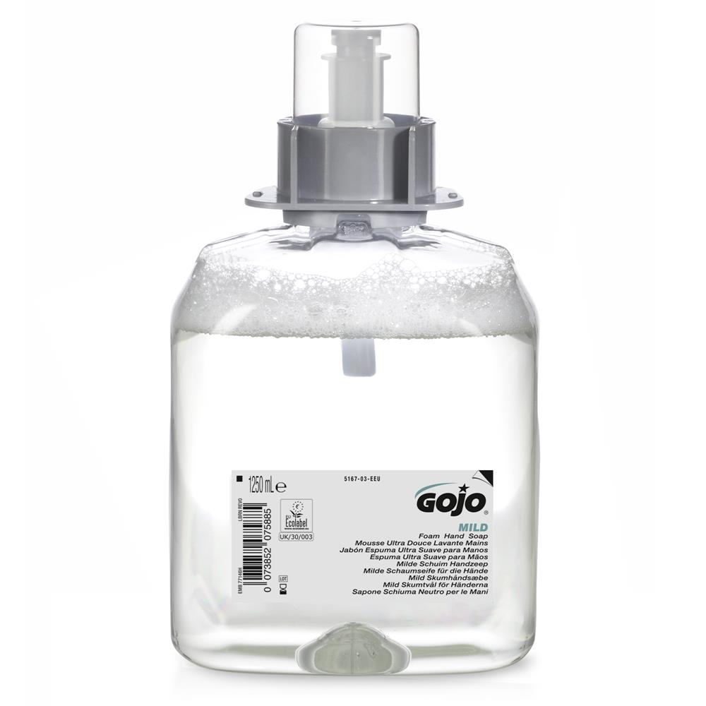 GoJo Mild Foam Hand Wash Fragrance Free 5167-03
