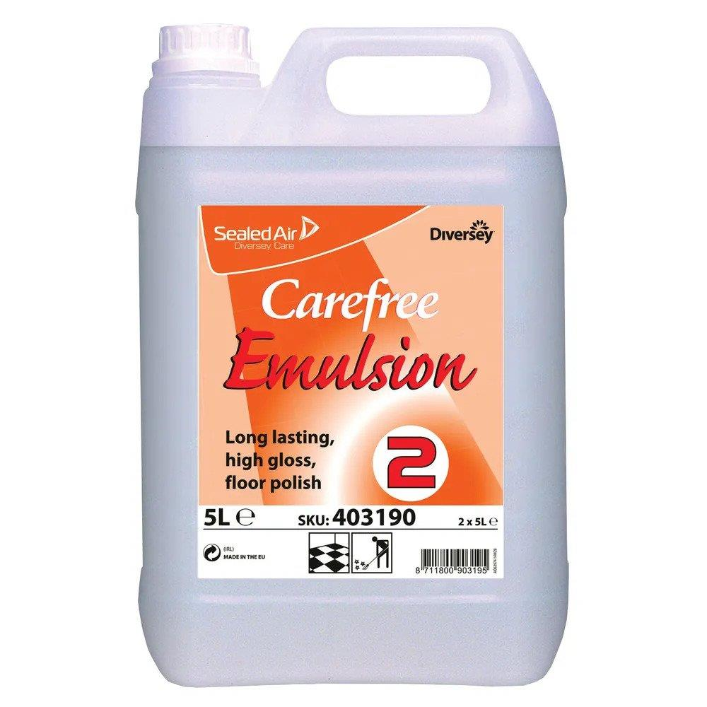 Carefree Emulsion Floor Polish