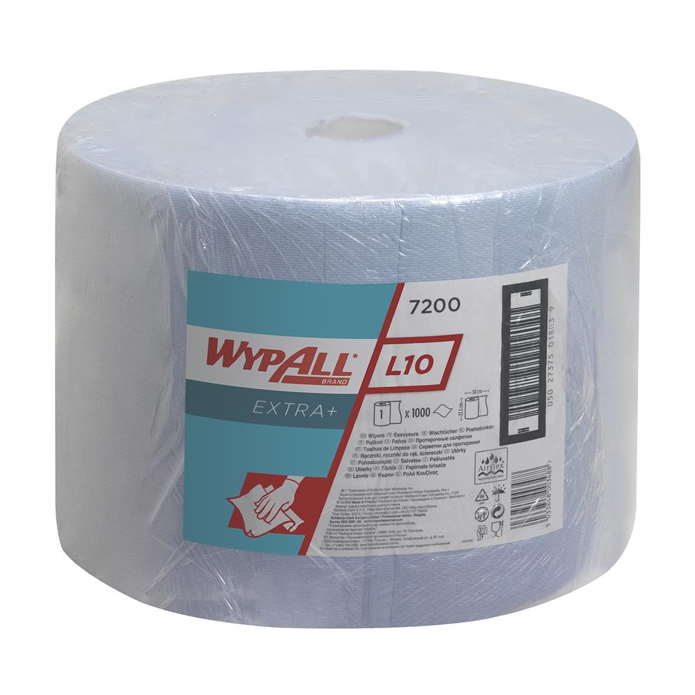 Kimberly Clark WYPALL* L20 Wipers - Large Roll -Bl