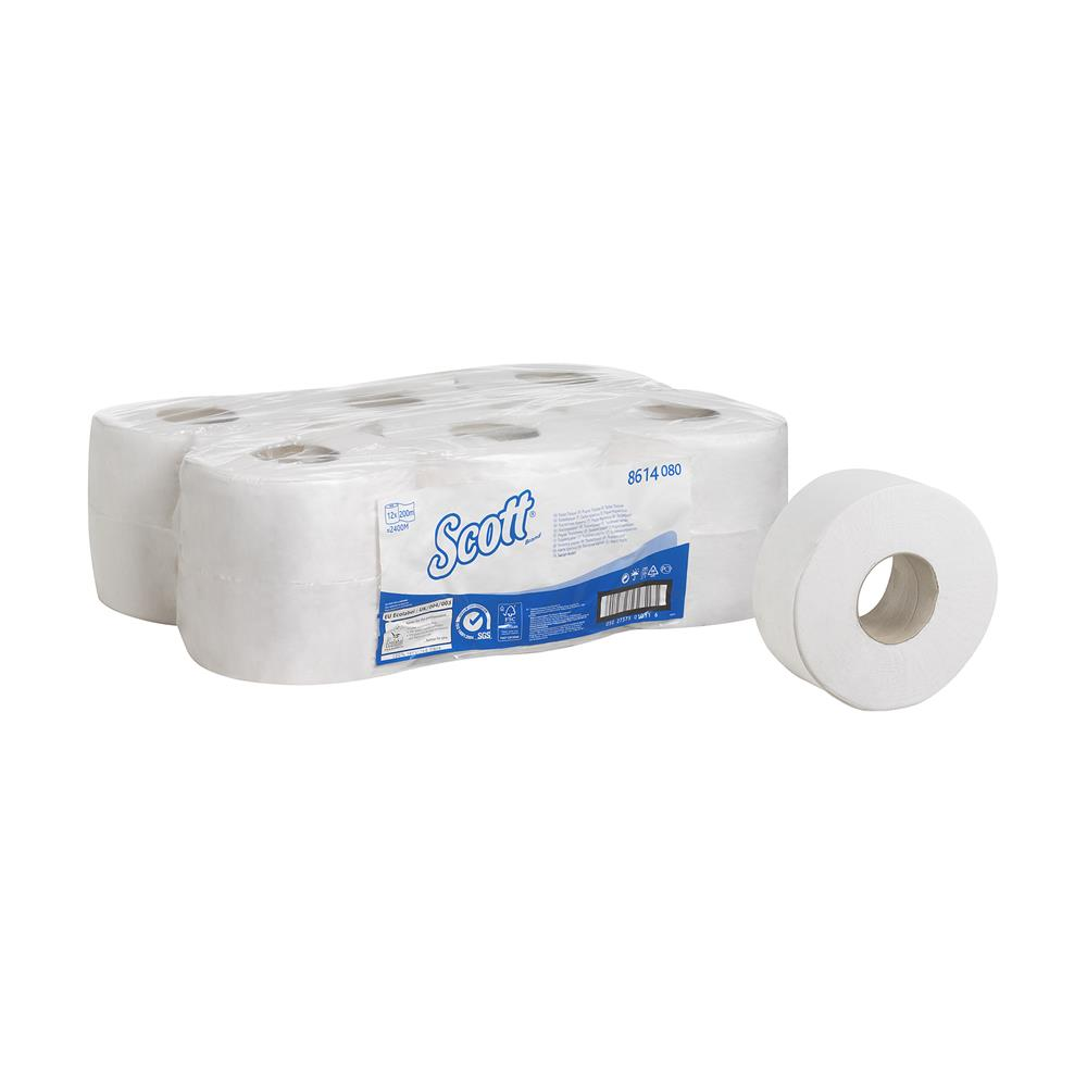 SCOTT Toilet Tissue - Mini Jumbo / Small Core