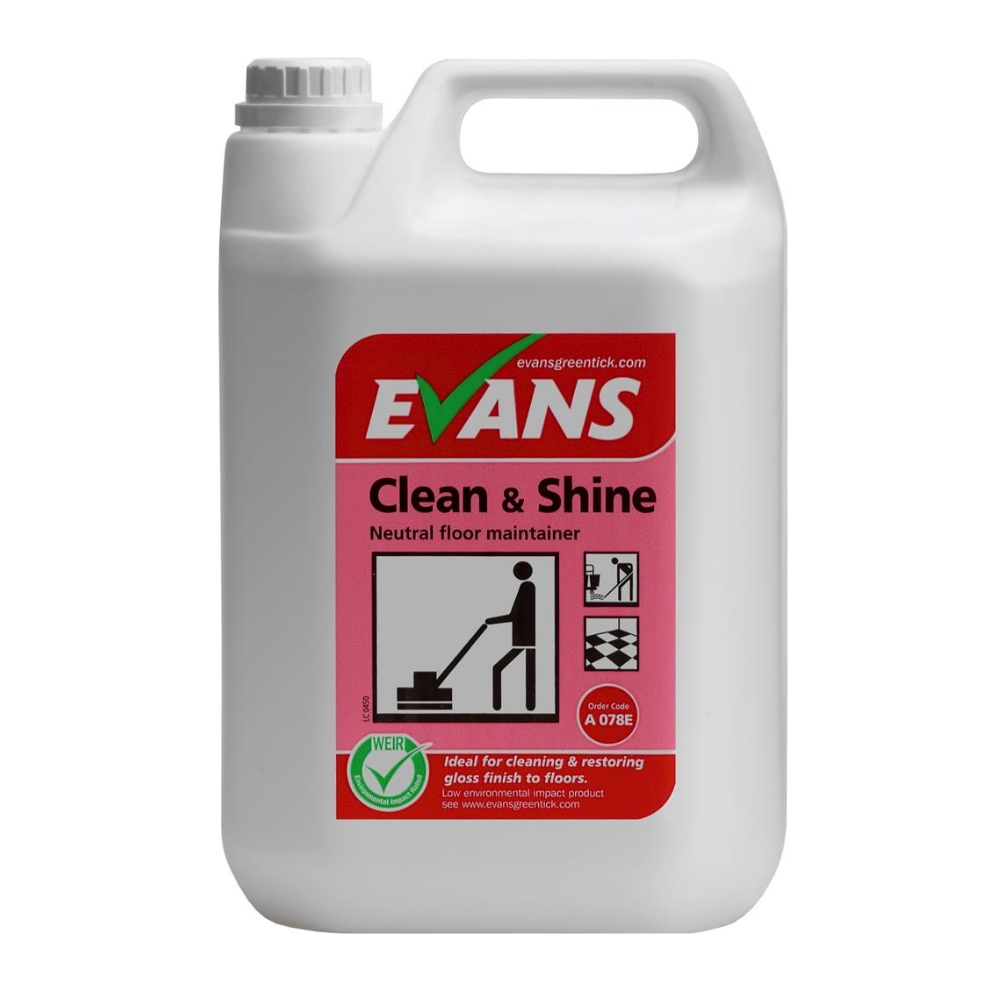 Evans Floor Clean & Shine