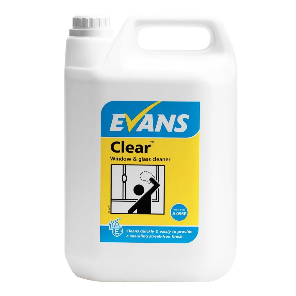 Evans Clear Glass Cleaner - Refill