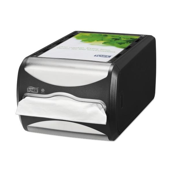 Xpress Counter Top Napkin Dispenser - Black