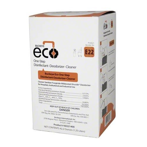 Buckeye ECO E22 One-Step Disinfectant -Deodorizer-Cleaner