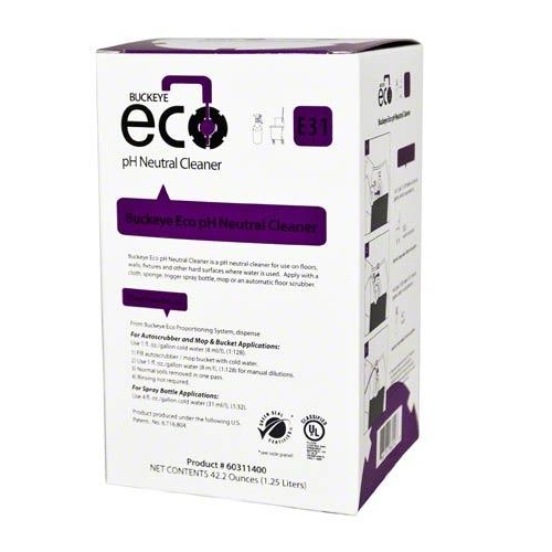 Buckeye ECO E31 pH Neutral Cleaner